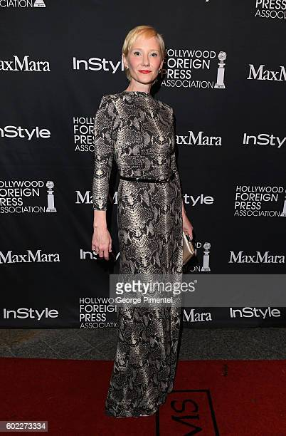 Actress Anne Heche attends the Hollywood Foreign Press Association and InStyle's annual celebration of the Toronto International Film Festival at...