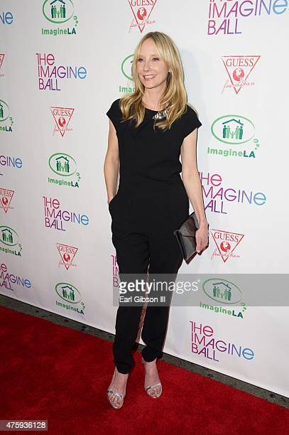 Actress Anne Heche attends The Imagine Ball at House of Blues Sunset Strip on June 4 2015 in West Hollywood California