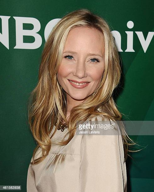 Actress Anne Heche attends the NBCUniversal 2015 press tour at The Langham Huntington Hotel and Spa on January 15 2015 in Pasadena California