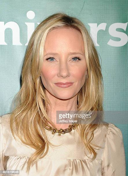Actress Anne Heche attends the NBCUniversal 2015 Press Tour at the Langham Huntington Hotel on January 15 2015 in Pasadena California