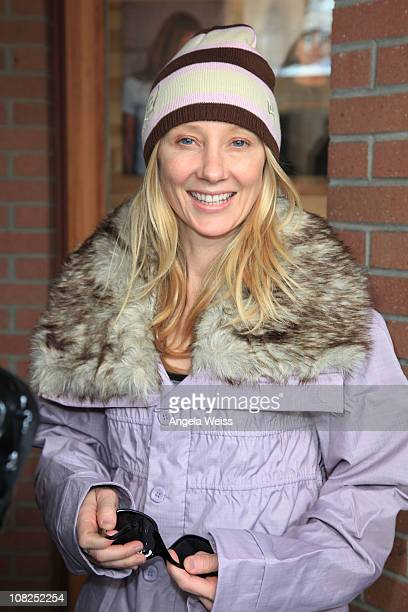Actress Anne Heche attends the Oakley Learn to Ride Fueled by Muscle Milk and Lounge on January 22 2011 in Park City Utah