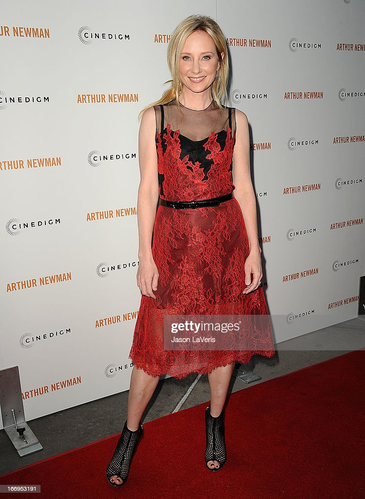 Actress Anne Heche attends the premiere of 'Arthur Newman' at ArcLight Hollywood on April 18, 2013 in Hollywood, California.