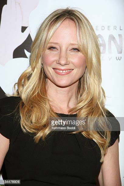 """Actress Anne Heche attends """"Wicked"""" - Los Angeles opening night held at the Pantages Theatre on December 1, 2011 in Hollywood, California."""