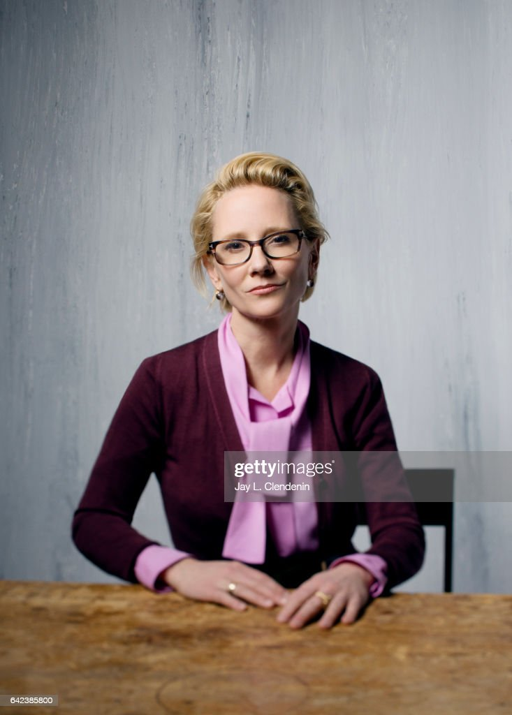 Actress Anne Heche, from the film The Last Word, is photographed at the 2017 Sundance Film Festival for Los Angeles Times on January 23, 2017 in Park City, Utah. PUBLISHED IMAGE.