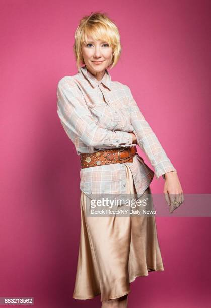 Actress Anne Heche is photographed for NY Daily News during the Tribeca Film Festival on April 21 2017 in New York City CREDIT MUST READ Derek...
