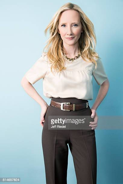 Actress Anne Heche is photographed for TV Guide Magazine on January 15 2015 in Pasadena California