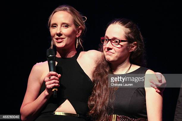 Actress Anne Heche speaks at THE IMAGINE BALL at House of Blues Sunset Strip on August 6 2014 in West Hollywood California