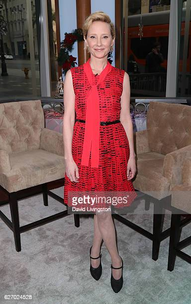 Actress Anne Heche visits Hollywood Today Live at W Hollywood on December 1 2016 in Hollywood California