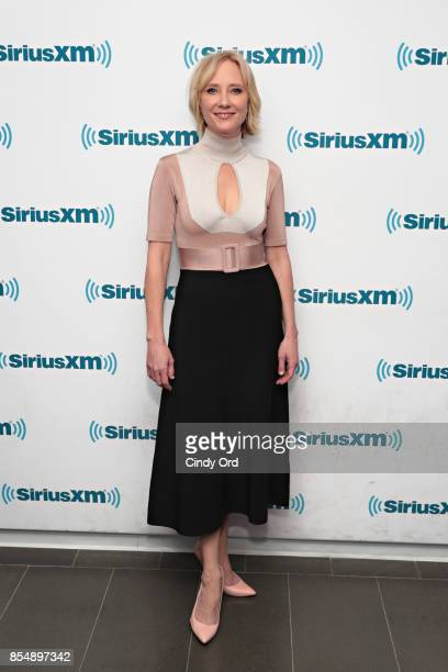 Actress Anne Heche visits the SiriusXM Studios on September 27 2017 in New York City