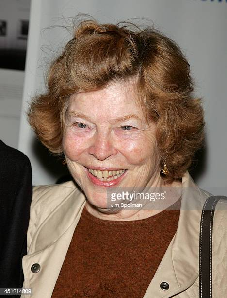 Actress Anne Jackson arrives at the War Premiere at the Museum of Modern Art on September 17 2007 in New York City