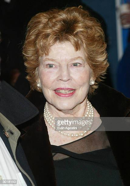 Actress Anne Jackson attends the 'Fiddler On The Roof' Broadway opening at the Minskoff Theatre February 26 2004 in New York City