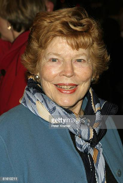 Actress Anne Jackson attends the opening night of 'Twelve Angry Men' at the American Airlines Theatre on October 28 2004 in New York City