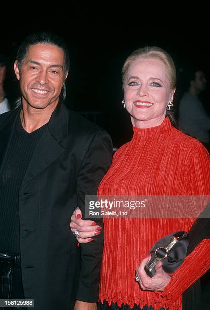 Actress Anne Jeffreys and date attending the party for 'Michael Jackson30th Anniversary Celebration' on September 7 2001 at Tavern on the Green in...