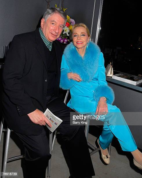 LOS ANGELES CA JANUARY 11 Actress Anne Jeffreys and guest attends Venice Magazine's after party for The Catholic Girl's Guide to Losing Your...