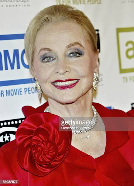 Actress Anne Jeffreys arrives at the 20th Annual American Cinematheque Award Dinner Honoring Al Pacino at the Beverly Hilton Hotel on October 21 2005...