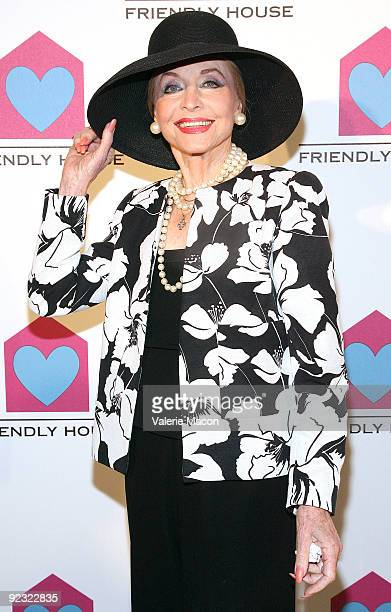 Actress Anne Jeffreys arrives at the Friendly House Luncheon at The Beverly Hilton Hotel on October 24 2009 in Beverly Hills California