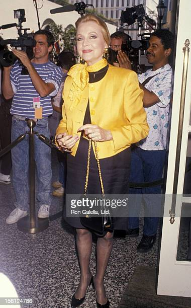 Actress Anne Jeffreys attending 'BMI Michael Jackson Awards' on May 8 1990 at the Beverly Wilshire Hotel in Beverly Hills California