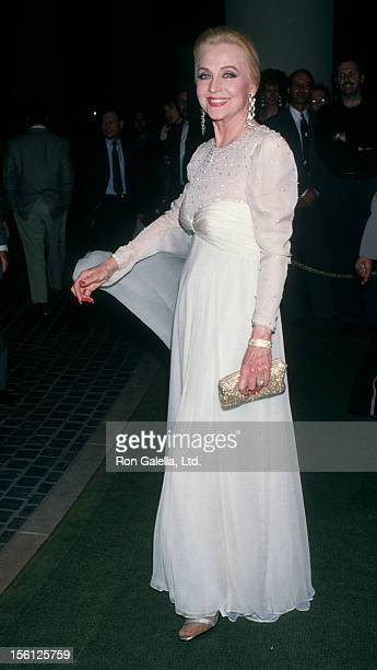 Actress Anne Jeffreys attending 'Sheba Humanitarian Awards Honoring Liza Minnelli' on January 26 1993 at the Beverly Hilton Hotel in Beverly Hills...