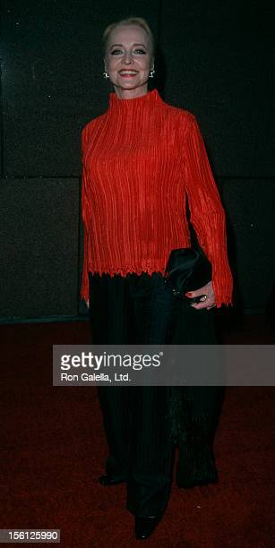 Actress Anne Jeffreys attending the party for 'Michael Jackson30th Anniversary Celebration' on September 7 2001 at Tavern on the Green in New York...
