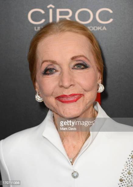 Actress Anne Jeffreys attends The 40th Annual Daytime Emmy Awards at The Beverly Hilton Hotel on June 16 2013 in Beverly Hills California