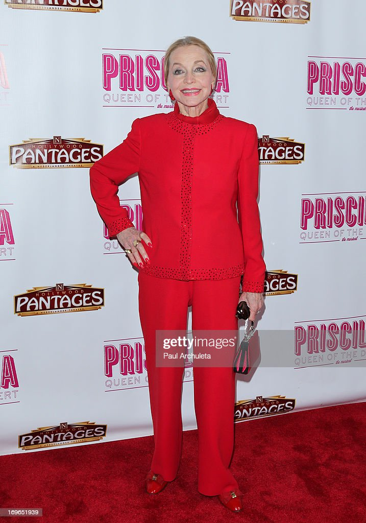 Actress Anne Jeffreys attends the 'Priscilla Queen Of The Desert' theatre premiere at the Pantages Theatre on May 29, 2013 in Hollywood, California.