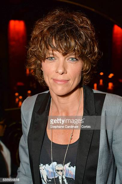 Actress Anne Le Nen attends the Book Signing Cocktail Party for 'La Fille Au 22' by AnnaVeronique El Baze at Buddha Bar on May 30 2016 in Paris France
