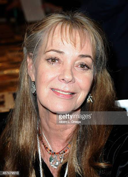 Actress Anne Lockhart at The Hollywood Show held at Westin LAX Hotel on October 18 2014 in Los Angeles California