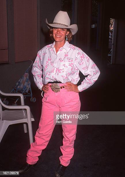 Actress Anne Lockhart attends the Third Annual Los Angeles Pro Celebrity Rodeo to Benefit Ahead with Horses and the Rosie Garcia Fund on August 3...