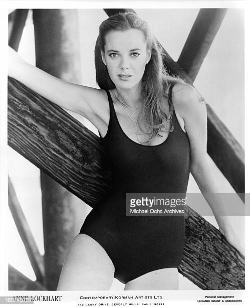 Actress Anne Lockhart poses for a portrait in circa 1977