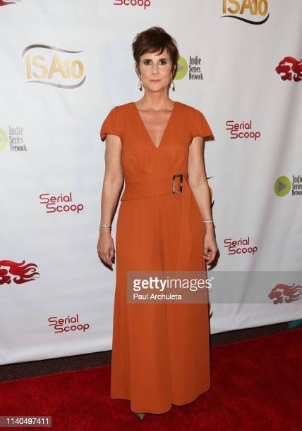 Actress Anne Marie Cummings attends the 10th Annual Indie Series Awards at The Colony Theater on April 03 2019 in Burbank California