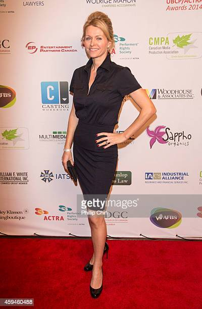 Actress Anne Marie DeLuise arrives at the 2014 UBCP/ACTRA Awards at the Vancouver Playhouse on November 22 2014 in Vancouver Canada