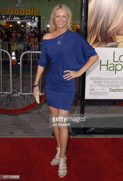 Actress Anne Marie DeLuise arrives at the Los Angeles Premiere Love Happens at Mann Village Theatre on September 15 2009 in Westwood California