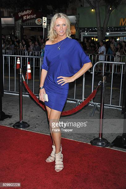 Actress Anne Marie DeLuise arrives at the premiere of Love Happens held at the Village Theater in Westwood