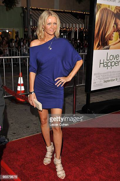 Actress Anne Marie DeLuise arrives on the red carpet at the Los Angeles premiere of Love Happens at the Mann's Village Theatre on September 15 2009...