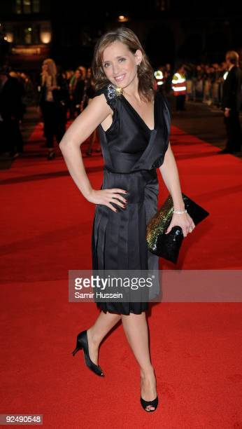 Actress Anne Marie Duff arrives at the premiere of 'Nowhere Boy' at the closing gala of the Times BFI 53rd London Film Festival at the Odeon...