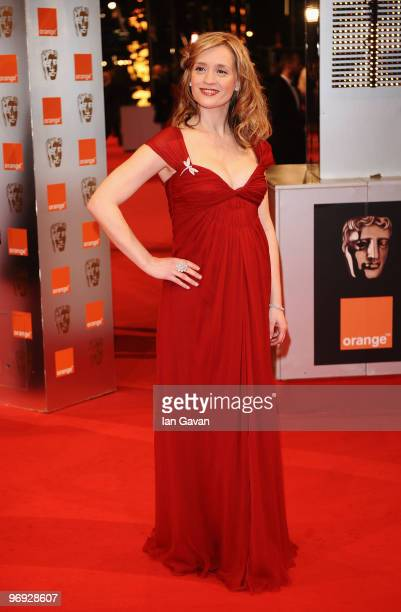 Actress Anne Marie Duff attends the Orange British Academy Film Awards 2010 at the Royal Opera House on February 21 2010 in London England