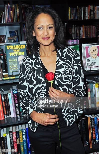 Actress Anne Marie Johnson at the Second Annual David DeCoteau's Day Of The Scream Queens held at Dark Delicacies Bookstore on January 25, 2015 in...