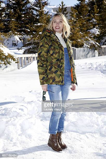 Actress Anne Marivin attends 'L'Embarras du Choix' Photocall At Hotel Chamois d'Or on January 20 2017 in Alpe d'Huez France