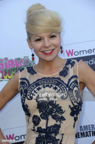Actress Anne McDaniels arrives for Etheria Film Night held at The Egyptian Theatre on June 3 2017 in Los Angeles California