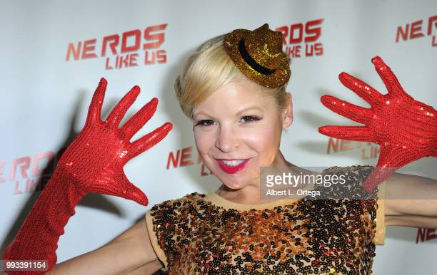 Actress Anne McDaniels attends 'Forbidden Fruit' Live Rocky Horror Experience Launch Featuring Barry Bostwick Hand Print Ceremony held at the Vista...