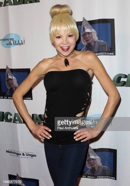 Actress Anne McDaniels attends the premiere of 'CICADA' The Movie at Downtown Independent on October 29 2018 in Los Angeles California