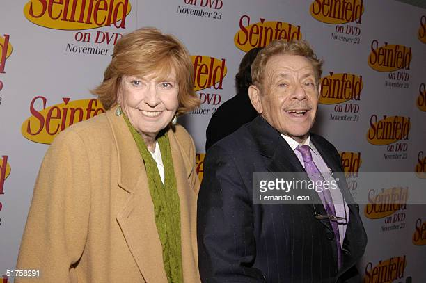 "Actress Anne Meara and her husband actor Jerry Stiller attend the DVD Release Party for the first three seasons of ""Seinfeld"" held on November 17,..."