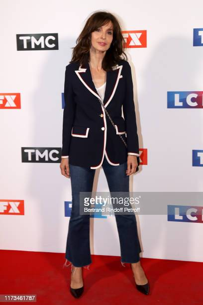 Actress Anne Parillaud attends the Groupe TF1 Photocall at Palais de Tokyo on September 09 2019 in Paris France