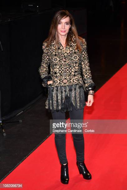 Actress Anne Parillaud attends the opening ceremony during the 10th Film Festival Lumiere on October 13 2018 in Lyon France