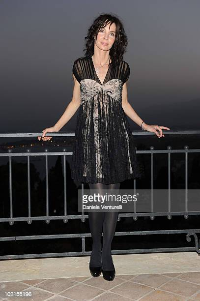 Actress Anne Parillaud attends the Taormina Arte Award during the Taormina Film Fest 2010 on June 16 2010 in Taormina Italy