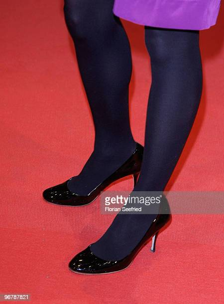 Actress Anne RattePolle attends the 'Shahada' Premiere during day seven of the 60th Berlin International Film Festival at the Berlinale Palast on...