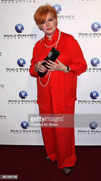 Actress Anne Robinson attends the premiere of 'Mary Pickford The Muse of Music' at the Academy of Motion Pictures Arts Sciences on August 28 2009 in...