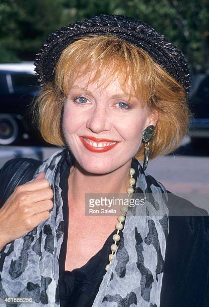 Actress Anne Schedeen attends the NBC Television Affiliates Party on August 7 1988 at the Registry Hotel in Universal City California