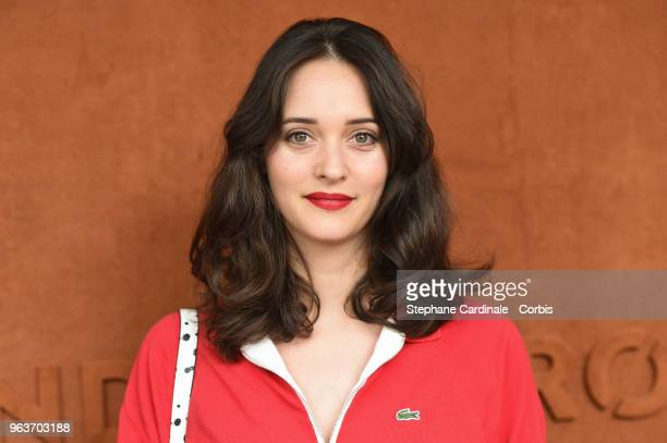 Actress Anne Serra attends the 2018 French Open Day Four at Roland Garros on May 30 2018 in Paris France