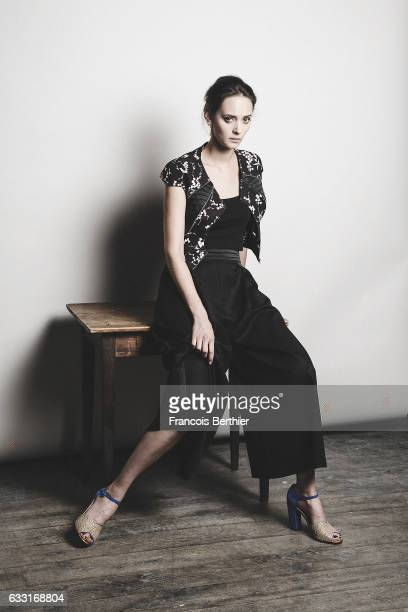 Actress Anne Serra is photographed for Self Assignment on September 16 2016 in Paris France